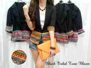 black tribal tone - katun kaos - jual blazer korea - jual blazer wanita - jual blazer pria - jual blazer murah - jual blazer online  - waroengpakaian.com - 2A75044E - waroeng pakaian – model blazer terbaru
