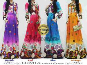 LUMIA maxi dress  - pusat maxi dress tanah abang - maxi dress murah - distributor maxi dress - waroeng pakaian - dany tauladany - maxio - daftar maxi dress terbaru - model maxi dress terbaru - maxi dress - maxi rayon -